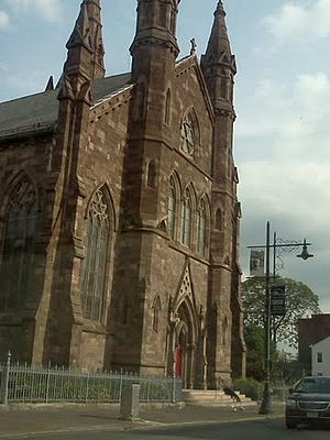 Cathedral of St. John the Baptist (Paterson, New Jersey) - Image: Stjohnscathedral