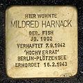 Stolperstein.Tiergarten.Genthiner Straße 14.Mildred Harnack.0257.jpg
