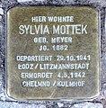 Stolperstein Martin-Luther-Str 113 (Schön) Sylvia Mottek.jpg