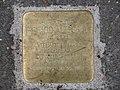 Stolperstein Richard Altschul, 1, Rengershäuser Straße 46, Oberzwehren, Kassel.jpg