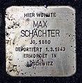 Stolperstein Wielandstr 5 (Schön) Max Schächter.jpg