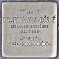 Stolperstein für Dr. Miklosne Pogany (Budapest).jpg
