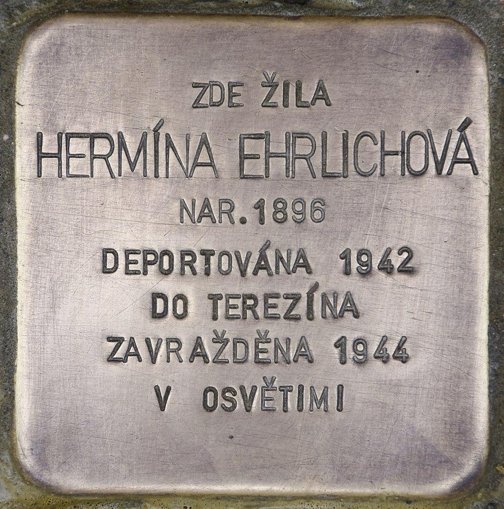Stolperstein für Hermina Ehrlichova.jpg