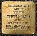 Stolpersteine Köln, Robert Geisenheimer (Magnusstraße 4).jpg