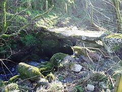 Stone footbridge - geograph.org.uk - 328337.jpg