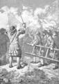 Storming of Kediri 1678 - The Crown of Mataram (1890).png