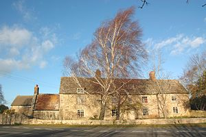 Beckley, Oxfordshire - New Inn Farm, Stowood, near Beckley, was built in the 18th century.