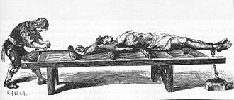 Torture - Medieval torture rack