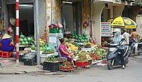 Street market - Hanoi, Vietnam - DSC03475