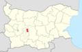 Strelcha Municipality Within Bulgaria.png