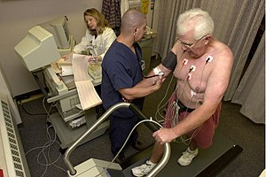 Fitness to dive - Cardiac stress test