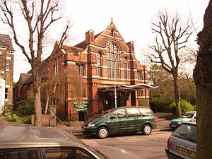 Stroud Green - Image: Stroud Green Holy Trinity