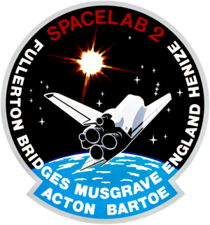 Loren Acton - Image: Sts 51 f patch