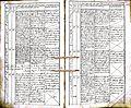Subačiaus RKB 1832-1838 krikšto metrikų knyga 130.jpg