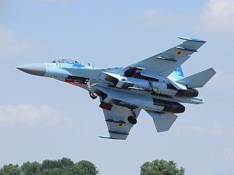 Pugachev's Cobra - The Sukhoi Su-27 is capable of the maneuver.