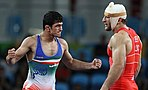 Summer Olympics 2016 , Men's Freestile Wrestling 74 kg 10.jpg