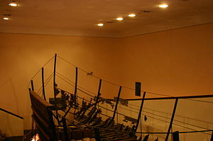 Sunk ship at Bodrum's Castle Museum (1).JPG