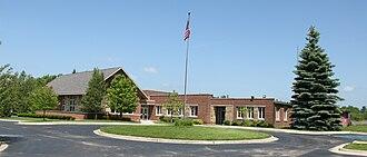 Superior Township, Washtenaw County, Michigan - Township Hall along N. Prospect Road