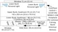 Superliner II Sleeper car Roomette dimensions.png