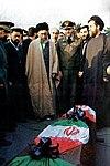 Supreme Leader Ali Khamenei at the funeral of commanders of the Air Force (3).jpg