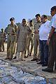 Surajit Kar Purkayastha and Sovan Chatterjee Inspecting Idol Immersion Facilities in River Hooghly - Baja Kadamtala Ghat - Kolkata 2015-10-22 6664.JPG
