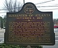 Surrender of Atlanta historical marker.jpg