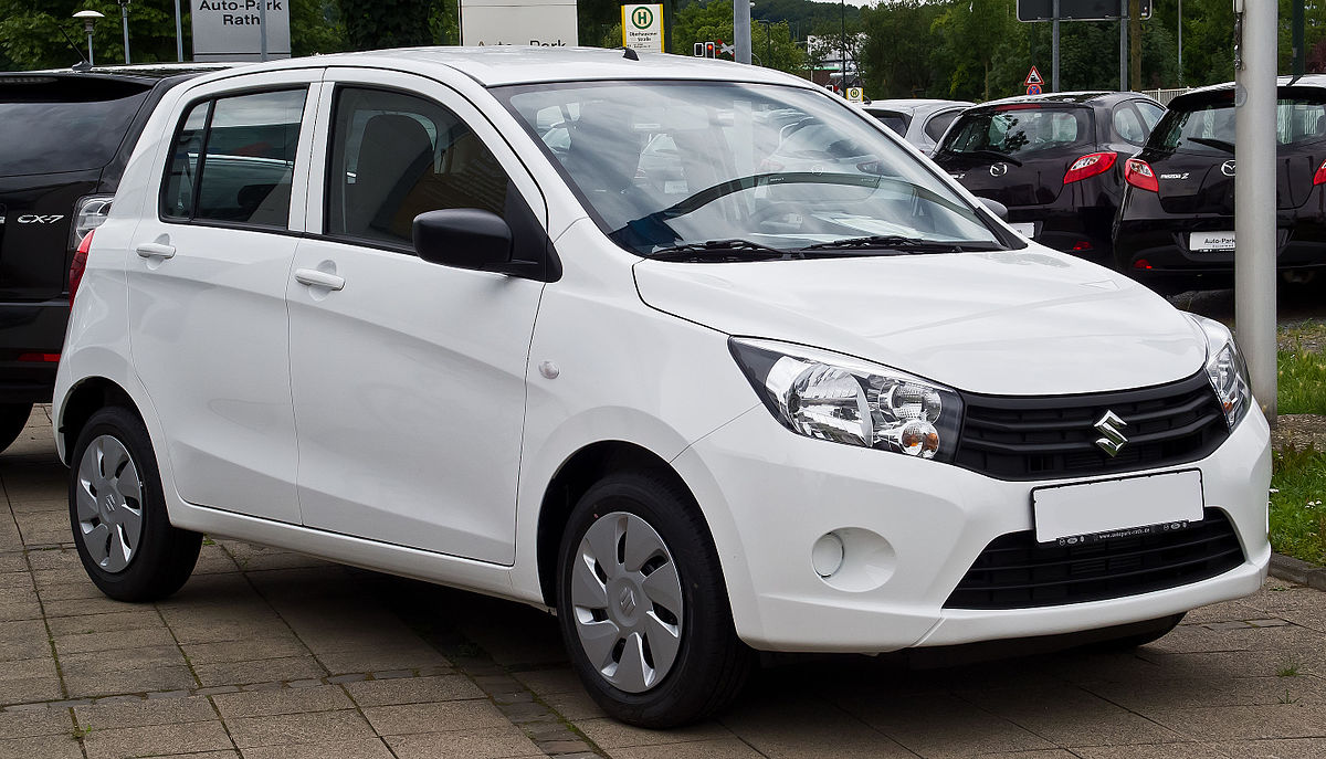 Swift 2016 Price In Pakistan >> Suzuki Celerio - Wikipedia