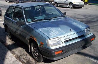 Suzuki Cultus - Suzuki Forsa