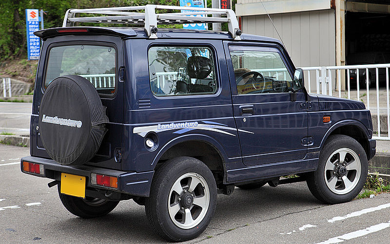 Suzuki Samurai Vs Jeep Youtube