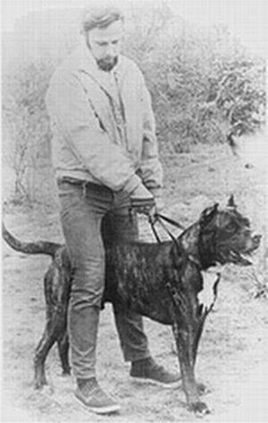 Bandog - Dr. John Swinford with Bantu