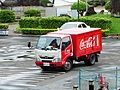 Swire Coca-Cola Hino 300 Truck Parked in National Concert Hall Car Park 20140607.jpg