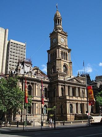 Sydney Town Hall - Image: Sydney Town Hall gobeirne 1