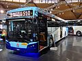 Sydney Buses (2250) Bustech 'VST' bodied Scania K280UB on display at the 2013 Australian Bus & Coach Show.jpg
