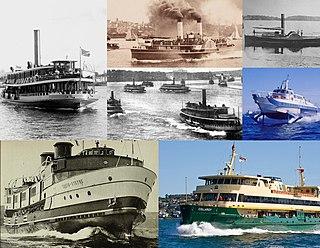 Timeline of Sydney Harbour ferries