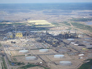 Syncrude - Minesite at Syncrude's Mildred Lake plant
