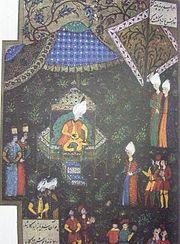 Szulejmán a sátrában Buda alatt (1529)