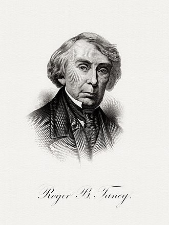 Roger B. Taney - BEP portrait of Taney as Secretary of the Treasury
