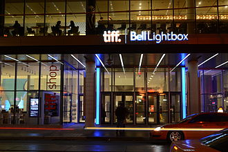 TIFF Bell Lightbox - TIFF Bell Lightbox at night