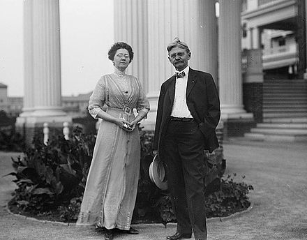 Thomas Marshall and wife Lois in Washington TRMarshall-wife.jpg