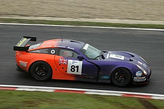 TVR Tuscan Speed Six - A Tuscan T400R racing model run by Team LNT in the Le Mans Series.