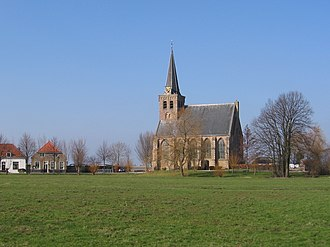 't Woudt - View from the village church