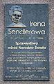 Tablica Irena Sendlerowa Pawińskiego 2 Warszawa.JPG
