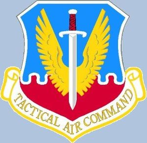 474th Tactical Fighter Wing - Image: Tacemblem