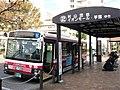 Tachikawa Bus J750 at Tamagawajōsui Station.jpg