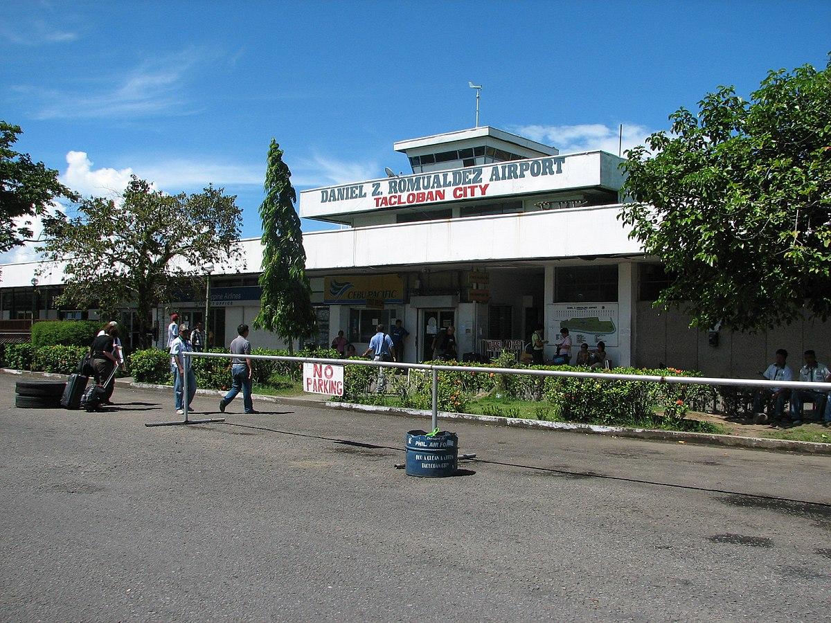 Aeroporto Di Tacloban Daniel Z Romualdez Wikipedia