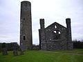 Taghadoe Round Tower and Church.jpg