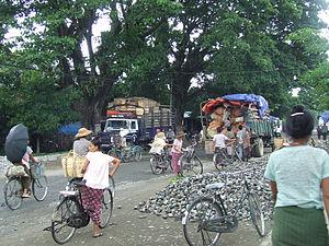 Kalewa - Image: Tahan, Burma