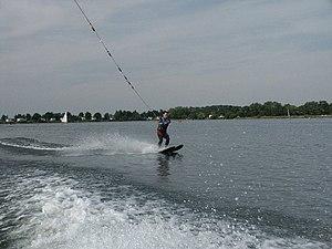 Tallington - Waterskiing on Tallington Lakes