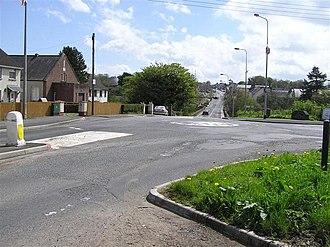 Coagh ambush - Coagh as seen from County Londonderry