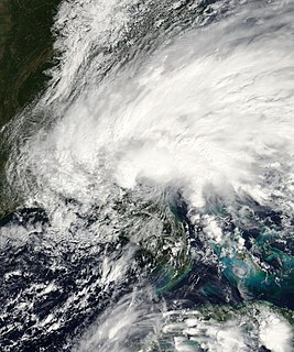 Tropical Storm Tammy Atlantic tropical storm in 2005